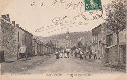 "1907  Gespunsart  ""Route De Pussemange "" - Charleville"
