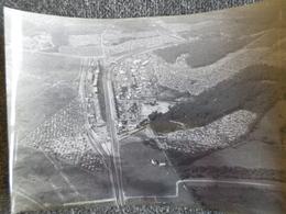 Vue Aérienne Du Circuit Des 24 Heures Du Mans En 1956 ( Ligne Droite Des Stands ) - Le Mans