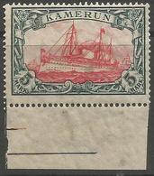 German Cameroun - 1913 Kaiser's Yacht 5mk MNH **    Sc 25 - Colony: Cameroun