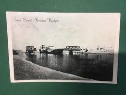 Cartolina Suez Canal - Ferdane Bridge - 1960 - Cartoline