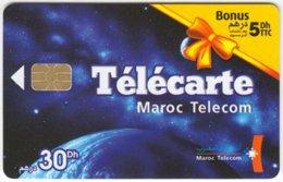 MAROC A-228 Chip Telecom - Universum - Used - Morocco