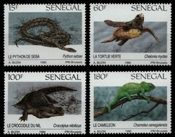 Senegal 1991 - Mi-Nr. 1116-1119 ** - MNH - Reptilien / Reptiles - Senegal (1960-...)
