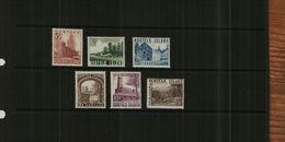 NORFOLK ISLAND - QE11 - 1953 - DEFS - 6 Stamps - MM - Norfolk Island