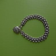 Bracelet En Argent Massif Poids:12.7 Grammes.longueur:19,5 Cm. - Armbänder