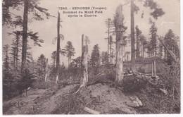 88  Vosges -  SENONES -  Sommet Du Mont Pelé Après La Guerre - Senones