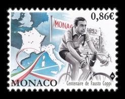 Monaco 2019 Mih. 3448 Italian Cyclist Fausto Coppi MNH ** - Neufs