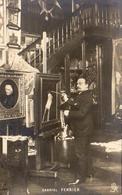 GABRIEL FERRIER Dans Son Atelier   ..... Peintre Orientaliste ( 1847- 1914 ) - Peintures & Tableaux