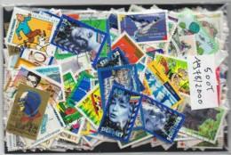 Lot De 500 Timbres De France Oblitérés Et Différents Entre 1978/2000 - Lots & Kiloware (mixtures) - Max. 999 Stamps
