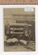 8350  CROCE ROSSA ITALIANA GUERRA 1915-18 AMBULANZA A CAVALLI 1870 CIRCA  ANNULLO FIRENZE - Croce Rossa