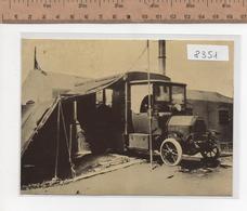 8351  CROCE ROSSA ITALIANA GUERRA 1915-18 AUTOCARRO ATTREZZATO FIAT 18 BLR 1915 ANNULLO FIRENZE - Croce Rossa