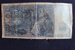 * / Allemagne -  Empire Allemand , Reichsbanknote -  100 Mark - Berlin  21. 4.1910  /  N°  D.8711428 - 50 Mark