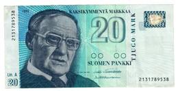 Finland 20 Marka 1993 - Finlandia