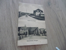 CPA 57 Moselle Kneuttingen Multivues Gare Banhof Pont Brucke - Otros Municipios