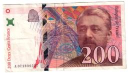 France 200 Francs 1999 S/N A0 - 1992-2000 Ultima Gama