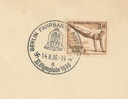 Olympia 1936 Fahrbares Postamt Reck Turnen Leichtathletik Sommerspiele - Alemania