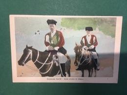 Cartolina Costumi Sardi - Sulla Strada Di Oliena - 1911 - Cartoline