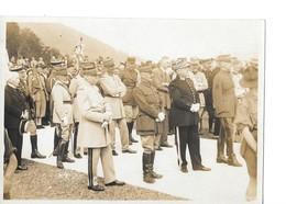 PHOTO - MILITAIRES EN UNIFORMES A MULHOUSE - 1932 - Guerra, Militares