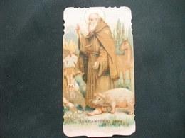 HOLY PICTURE SANTINO IMAGE SAINTE  SANT'ANTONIO ABATE - Religione & Esoterismo