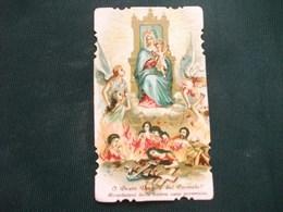 HOLY PICTURE SANTINO IMAGE SAINTE   BEATA VERGINE DEL CARMELO R.17 - Religione & Esoterismo