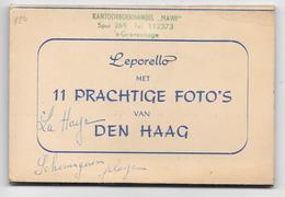 Leporello Met 11 PRACHTIGE FOTO'S Van DEN HAAG - Uitgave: HOEK - Tampon KANTOORBOEKHANDEL MAWI - 10 Vues Seulement - Den Haag ('s-Gravenhage)