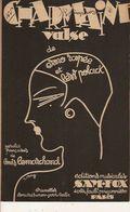 PARTITION N° 165 / CHARMAINE / VALSE LENTE / LOUIS LEMARCHAND ILLUSTRATEUR E;ERNY / - Liederbücher