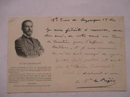 LE DUC D' ORLEANS    -  CACHET JOUR DE L'AN   190.     LETTRE DU COMTE DE REGIS   AU COMTE DE  RAMEL     ....      TTB - Personnages Historiques