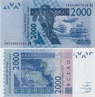 WEST AFRICAN STATES   H: Niger        2000 Francs       P-616H[o]       2003 - (20)18        UNC - Westafrikanischer Staaten