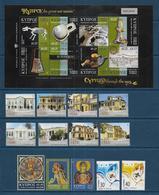 CHYPRE - Annnée  2007 - 25 Timbres + 2 Blocs - Ongebruikt