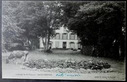 CPA 35 SAINT SERVAN - RARE - Château De St. Etienne - Cliché Olivry - Réf. D 164 - Saint Servan