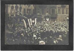 CPA Pologne Polska Polen Poland Circulé Varsovie Warsaw Warszawa Carte Photo RPPC 1906 - Pologne