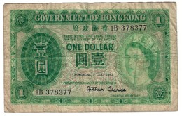 Hong Kong 1 Dollar 01/07/1954 - Hong Kong
