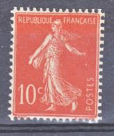 France 135c Semeuse Chiffres Maigres  Neuf ** TB   MNH  Sin Charnela Cote 38 J - France
