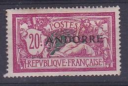 """N°208** De FRANCE Surchargé """" ANDORRE"""" - Andorre Français"""