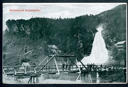 Norheimsund, 1907, Steindalsfos, Kvam, Hordaland, Meyer, Bergen - Norwegen