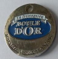 Jeton De Caddie -  BOULE D'OR - La Fromagerie - Médaille D'or - Paris 1999  - En Métal - - Einkaufswagen-Chips (EKW)