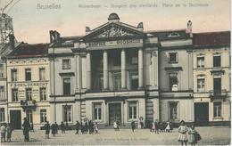 BRUXELLES - MOLENBEEK : Hospice Des Vieillards - Place De La Duchesse - TRES RARE COLORISEE Cachet De La Poste 1904 - Molenbeek-St-Jean - St-Jans-Molenbeek