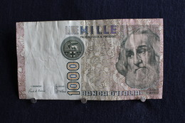 20 / Italie - 1946: République Banca D'Italia,1000 Lire, Mille - 6 Janvier 1982 /  N° EC  044922 I - [ 2] 1946-… : République
