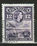 Antigua Single 12 Cent Stamp From The 1963 Definitive Issue With Change Of Watermark. - Antigua & Barbuda (...-1981)