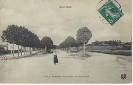 56 ( Morbihan ) - VANNES - Promenade Du Pont Vert - Vannes