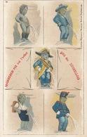 BRUXELLES : MANNEKEN PIS. Environ 110 Cartes Postales. - België