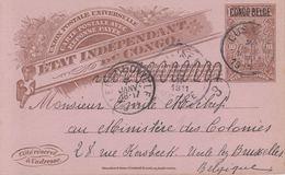 CONGO BELGE. 17 Entiers Postaux Ayant Circulé. - Postkaarten