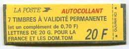 RC 12800 FRANCE CARNET N° 1503 BRIAT VARIÉTÉ DE COUVERTURE COMPOSITION VARIABLE MNH NEUF ** - Markenheftchen