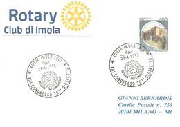 ITALIA - 1990 IMOLA (BO) XIII Congr. 207° Distretto ROTARY - Rotary, Club Leones