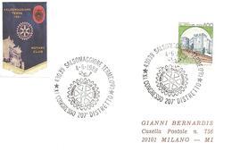 ITALIA - 1988 SALSOMAGGIORE TERME (PR) XI Congr. 207° Distretto ROTARY - Logo Dell'associazione - Rotary, Club Leones