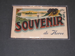 SOUVENIR DE HERVE - CPA ILLUSTREE - Herve