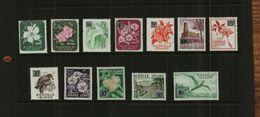 NORFOLK ISLAND - QE11 - 1966 - DEFS - 12 Stamps - MNH - Norfolk Island