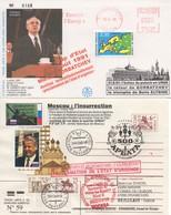 DI247a-f - Gorbatchev - Eltsine (6 Lettres)   TTB - Lettres & Documents
