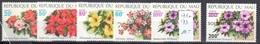 Mali Mnh ** 11 Euros Flowers Set Plus Overprint - Mali (1959-...)