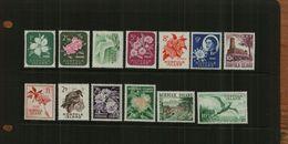 NORFOLK ISLAND - QE11 - 1960-62 - DEFS - 13 Stamps - MNH - Norfolk Island