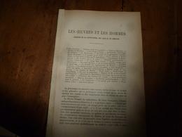 1897 Les Cabarets De Montmartre; La Société Antiesclavagiste; Etc (Courrier: Littérature, Arts Et Du Théâtre) 23pages - Ohne Zuordnung